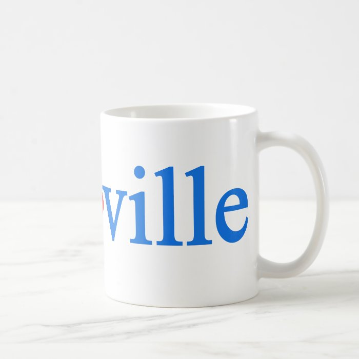 auroville love coffee mug