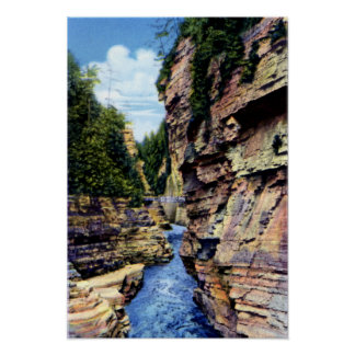 Ausable Chasm New York Devils Punch Bowl Print
