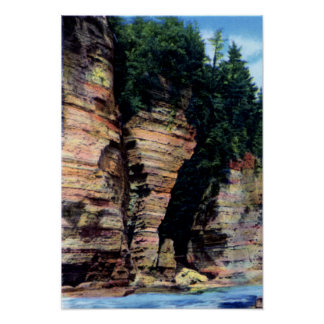 Ausable Chasm New York Elephants Head Poster