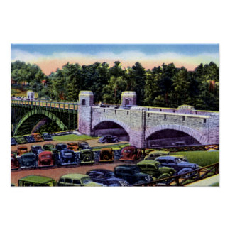 Ausable Chasm New York Main Gate Posters