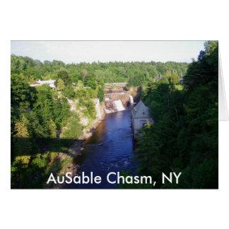 AuSable Chasm, NY Card