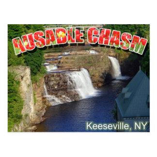 AuSable Chasm Postcard