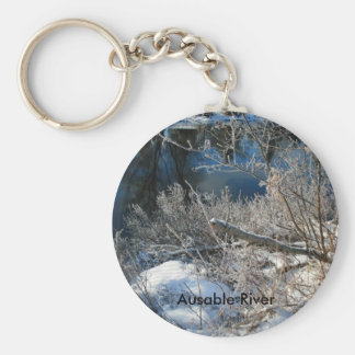 Ausable River 2 Keychain