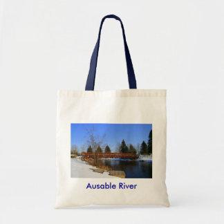 Ausable River II Tote Bag