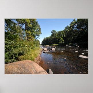 AuSable River in the Adirondacks. print 08 323