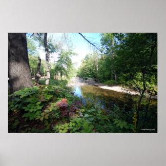 AuSable river in the Adirondacks. print 117