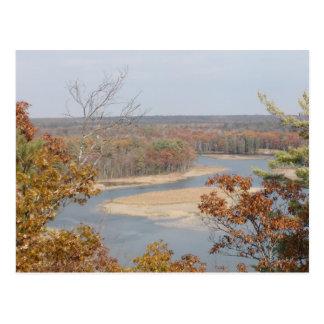 AuSable River Postcard