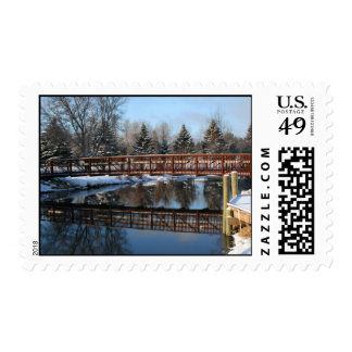 Ausable River Stamp