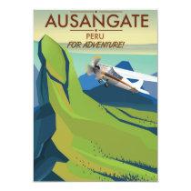 Ausangate Peru.  Into Adventure! Invitation