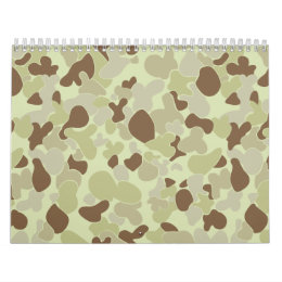 Auscam desert camouflage calendar