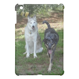 Ausky Dog and Catahoula Leopard Dog Friends iPad Mini Covers