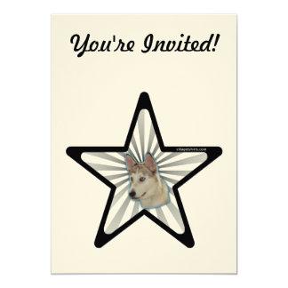 Ausky Dog Star Card