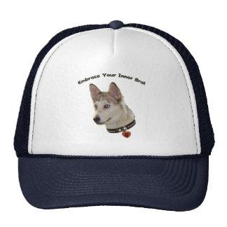 Ausky Inner Brat Dog Trucker Hat