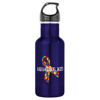 AuSome Kid Beverage Bottle 18oz Water Bottle