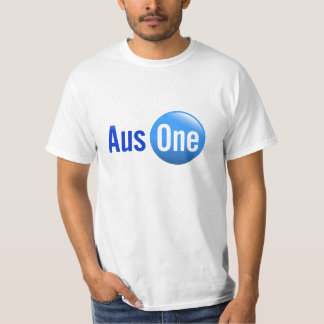 AusOne Blue T-Shirt
