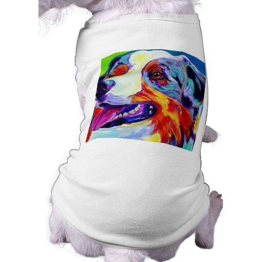 Aussie #1 camisetas de perro