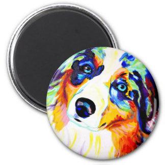 Aussie #3 2 inch round magnet