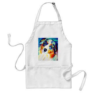 Aussie #3 adult apron