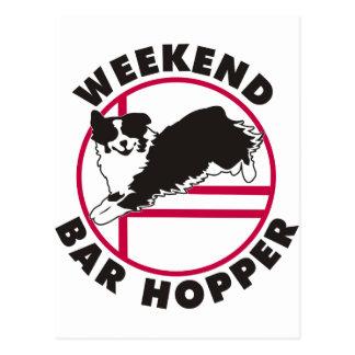 Aussie Agility Weekend Bar Hopper Postcard