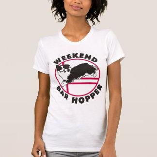 Aussie Agility Weekend Bar Hopper Tee Shirt