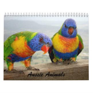 Aussie Animals Calendar