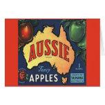 Aussie Apples Card