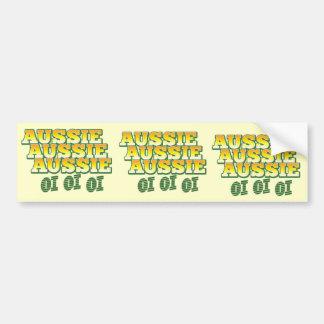 Aussie Aussie Aussie oi oi oi Car Bumper Sticker