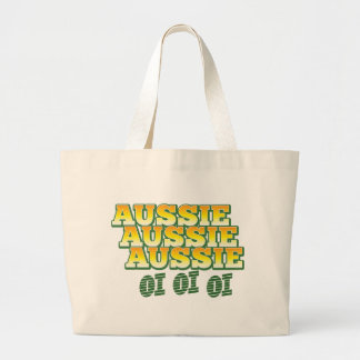 Aussie Aussie Aussie oi oi oi Large Tote Bag