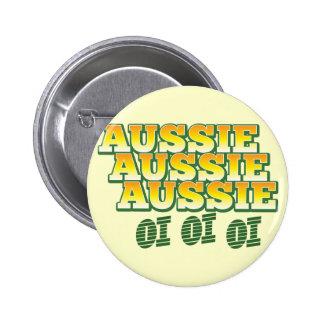 Aussie Aussie Aussie oi oi oi Pinback Button