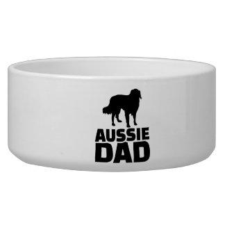 Aussie Australian shepherd Dad Bowl