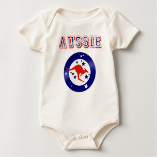 Aussie Babies gifts Kangaroo Oz new born Baby Creeper