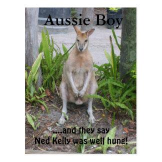 Aussie Boy, postcard