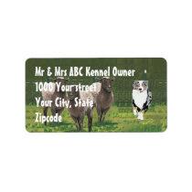 """Aussie """"Bringing them home"""" Address Label"""