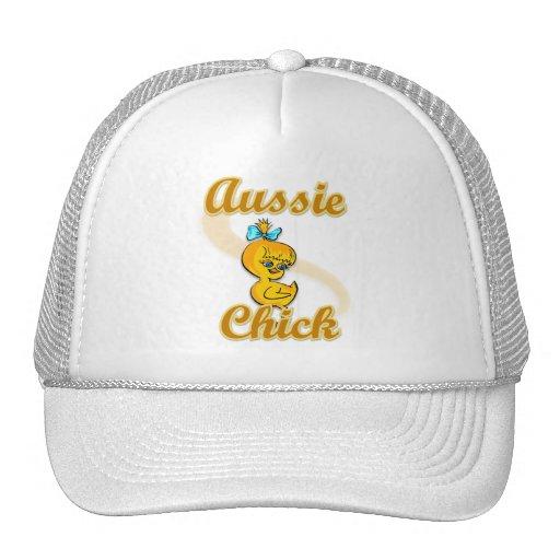 Aussie Chick Trucker Hat