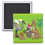 Aussie Christmas Fridge Magnet