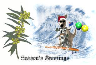 Australia koala christmas cards zazzle aussie christmas holiday card m4hsunfo
