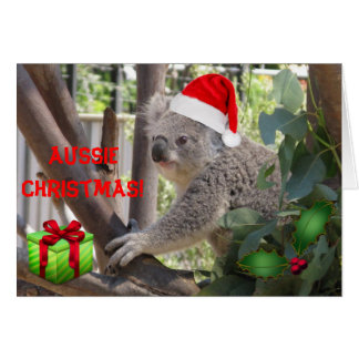 Aussie Christmas to You greeting card