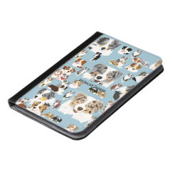 iPad Mini Folio Case with Australian Shepherd Phone Cases design