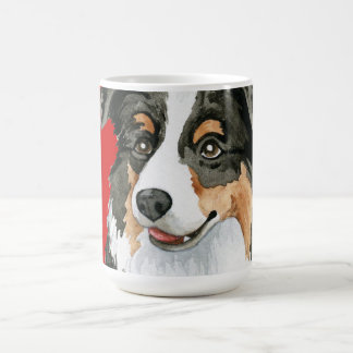 Aussie Color Block Coffee Mug