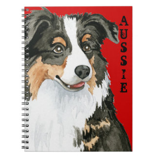 Aussie Color Block Notebook