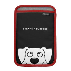 iPad Mini Sleeve with Australian Shepherd Phone Cases design