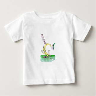 aussie cricket eye on the ball, tony fernandes baby T-Shirt