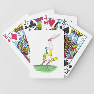 aussie cricket nutmeg, tony fernandes bicycle playing cards