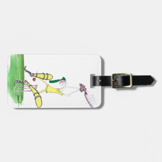 aussie cricket nutmeg, tony fernandes luggage tag
