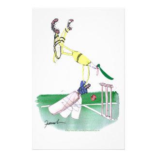 aussie cricketer opening bat, tony fernandes stationery