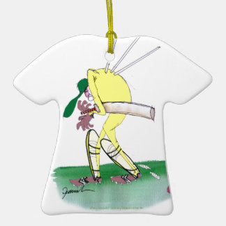 aussie cricketer out for nought, tony fernandes ceramic T-Shirt decoration