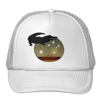 Aussie Croc Cap Trucker Hat
