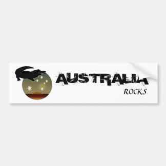 Aussie Croc Icon Bumper Sticker