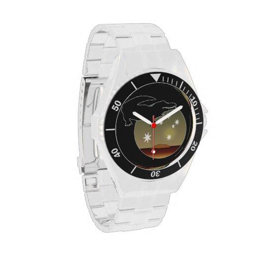Aussie Croc Icon Classic Stainless Steel Watch