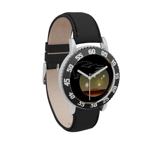 Aussie Croc Icon Kids Bezel Stainless Steel Watch